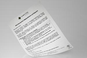 Registration return/ complaint