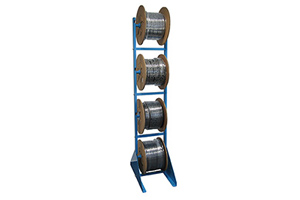 Rack for hose coils